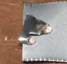 32Vのスプラッシュ痕