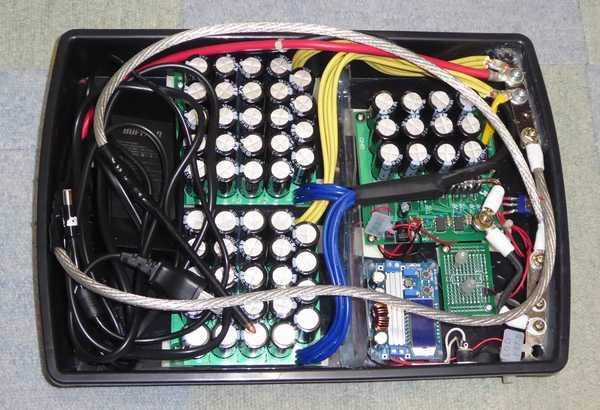 コンデンサスポット溶接機(3号機)コンデンサフル実装