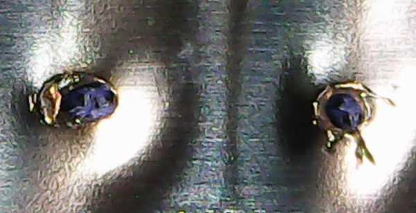 スポット溶接機完成 引き剥がしテスト30V 0.3mm