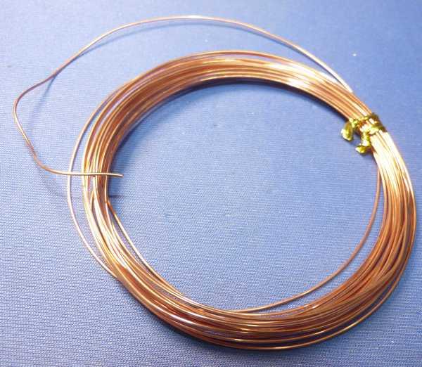 電極 0.9mm銅線