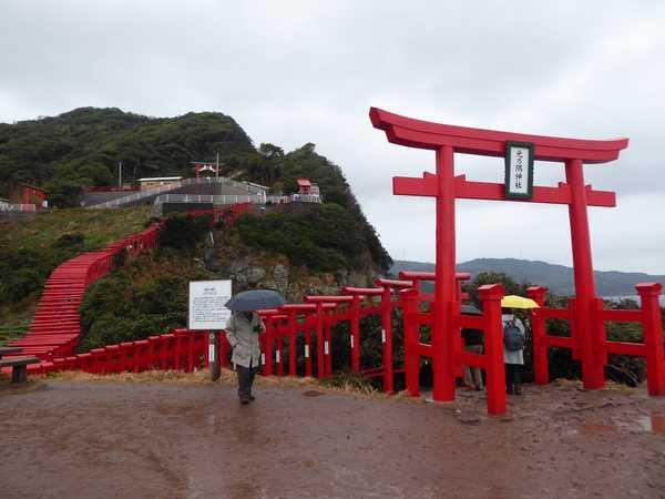 山口に行きました 元乃隅神社