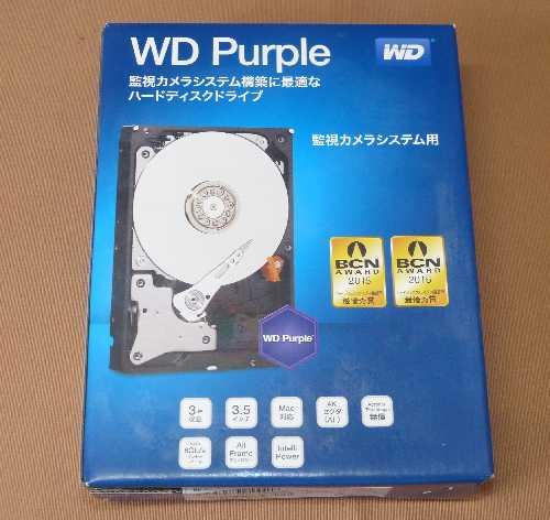 DMR-BZT600用のHDDを購入しました