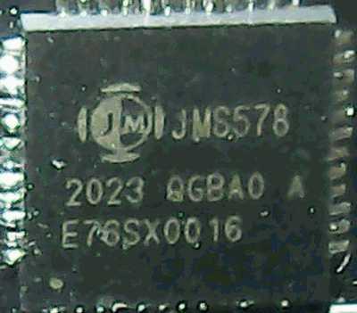 3 透明な 2.5インチ HDDケース チップは JMS578