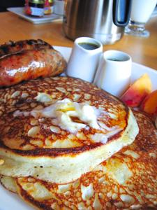 シアトルの朝食