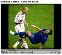 You Tube (chanson de Zidane)