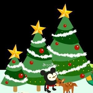 クリスマスツリー大・中・小になりました