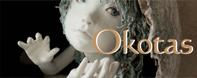 創作人形他、水彩画を紹介するOKOTAS(オコタス)