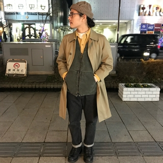 82b2f8ba3e7fb OLD BURBERRY STAIN COLLAR COAT