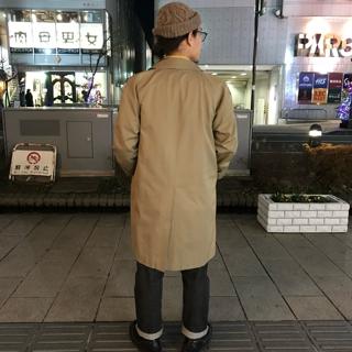 c0d35da79da8 OLD BURBERRY STAIN COLLAR COAT size S ¥12800+TAX