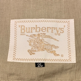 5e8eef48f6e4 OLD BURBERRYS LINEN SWING TOP size 2L ¥9800+TAX