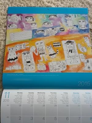 ユニセフカレンダー2015