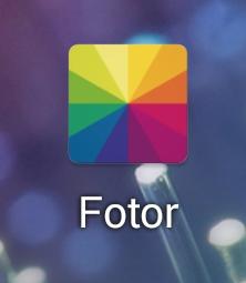 画像加工Fotor