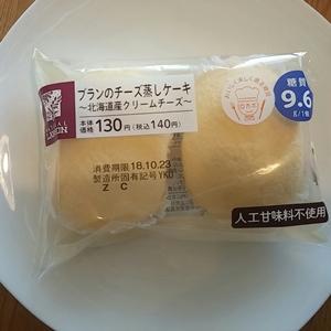 ブランのチーズ蒸しケーキ
