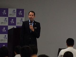 日米教育委員会(フルブライト・ジャパン) マット・サスマン事務局長