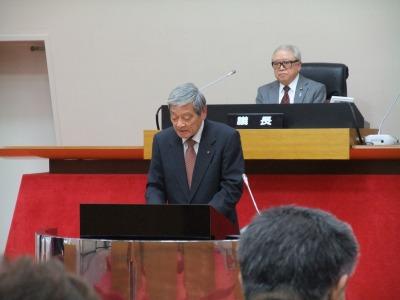 北村公男議員 最後の一般質問に立つ 2013.03.12