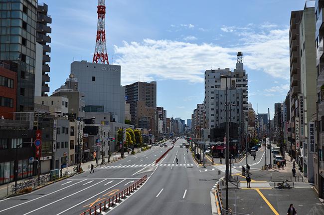 日光街道と国道4号線/三ノ輪