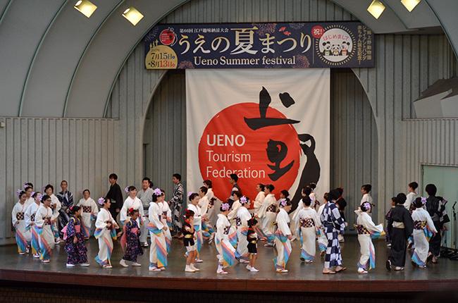 日本舞の会/うえの夏まつり