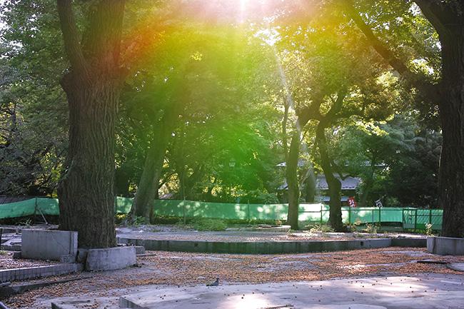 上野こども遊園地跡