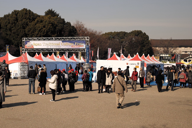 JAPAN Traditional Culture Festa in 上野恩賜公園