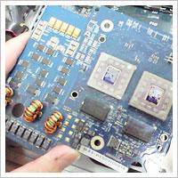 PowerMacG4のCPUボードの交換