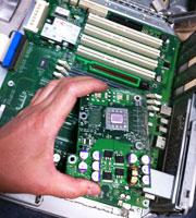G4クイックシルバーのCPUボード交換