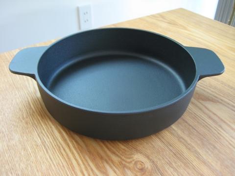 伊賀焼土鍋・黒釉