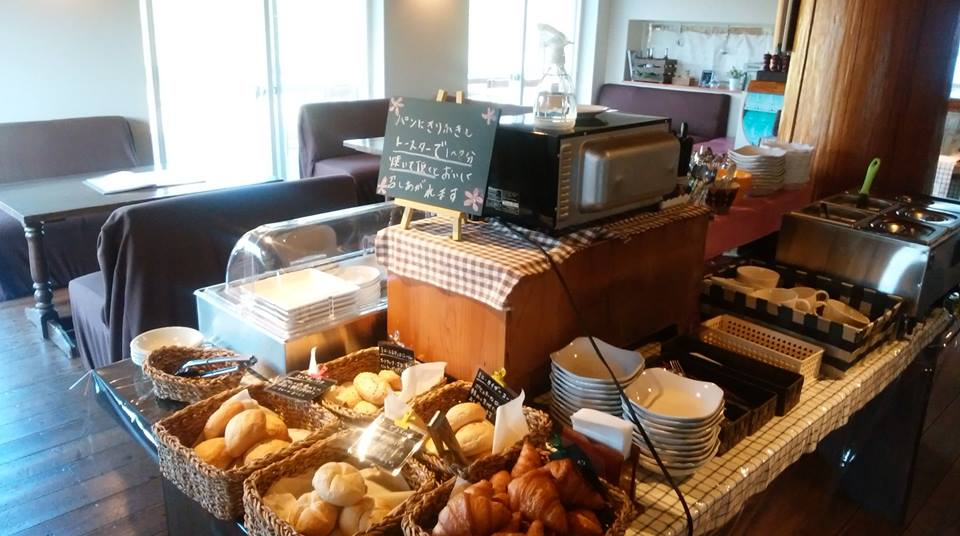 おぐに天然色あるくカフェ モーニングサービスはじまりました。