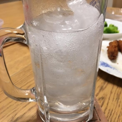 普通の炭酸水