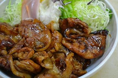 生姜焼き ロース スライス