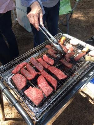 カルビ、ロース、ハラミ BBQ