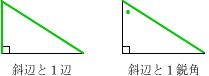 直角三角形の合同条件