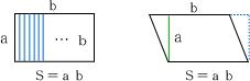 長方i形・平行四辺形の面積