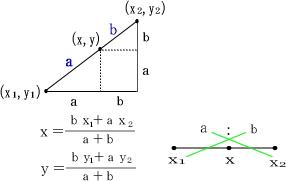 線分の分割