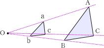 相似の中心の定義