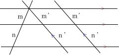 平行線と線分の比2