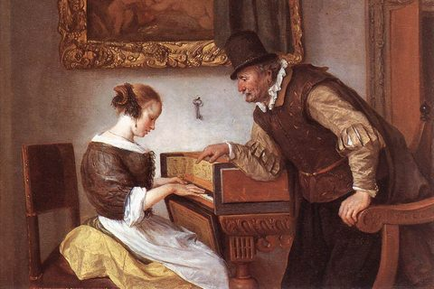 Jan Steen - The Harpsichord Lesson