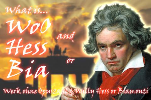 WoO番号とベートーヴェン、作品目録,Hess番号,Bia番号