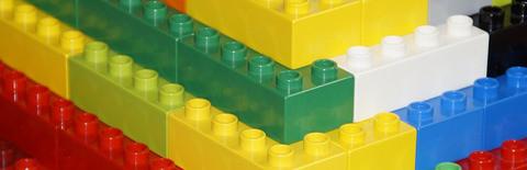 レゴブロックの写真