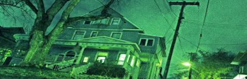 不気味な家の写真