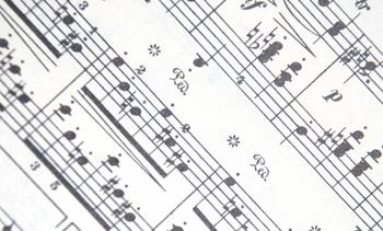 実際の楽譜の例