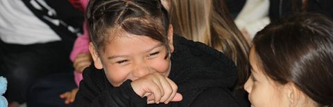 笑顔の女の子の写真
