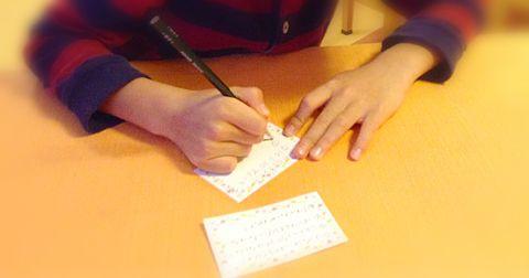 ピアノ発表会の後に書いてもらうドリームカード