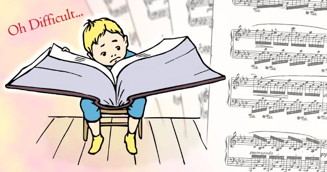 """大好き!でも難しい…そんな曲の譜読みとピアノの練習は、ゆっくりと小さな""""出来た""""をつなげよう"""