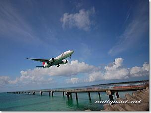 下地島の飛行機