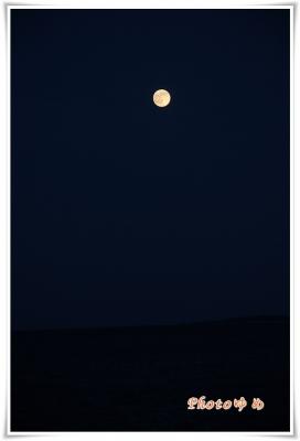夢が撮影した満月