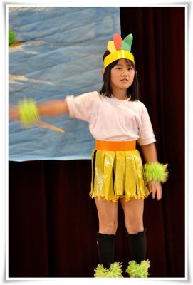 学芸会で踊る夢