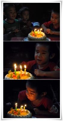 たくまの誕生日会