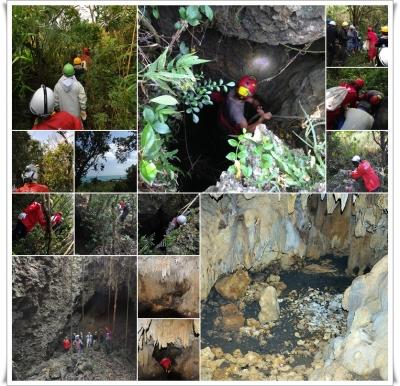 浜比嘉島洞窟探索