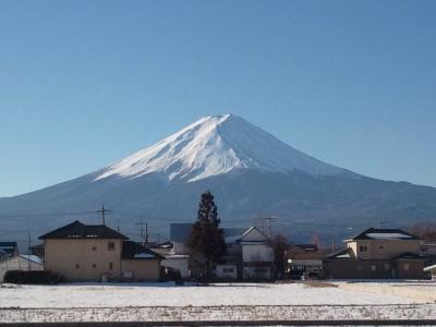 富士山の麓で味噌作り