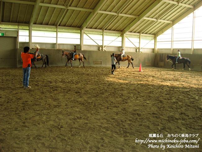 岩手県室根山 風薫る丘みちのく乗馬クラブ カウボーイキャンプ2010